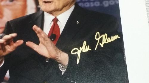 John Glenn Autographed 8x10 Photo Signed Jsa Authenticated Not Personalized Rare