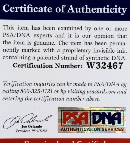 "Jenny McCarthy Signed "" Sexy Playboy "" 8x10 Photo PSA/DNA"