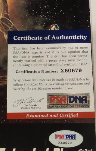 James Earl Jones Darth Vader Star Wars Signed Autographed LaserDisc PSA X60679