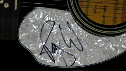 Pink Floyd Roger Waters Signed 12String Acoustic Electric Guitar AFTAL