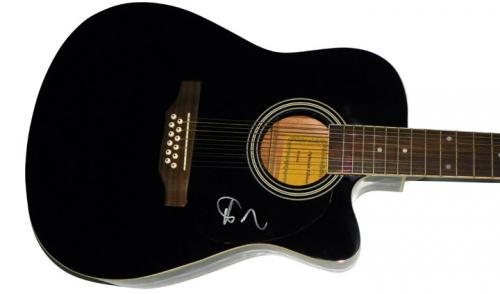 Phish Trey Anastasio Autographed Signed 12String Guitar AFTAL