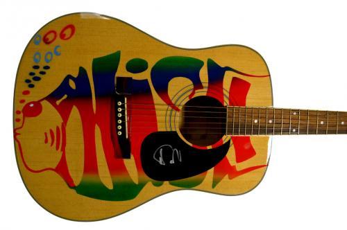 Phish Trey Anastasio Autographed Signed Airbrushed Logo Guitar Preorder AFTAL