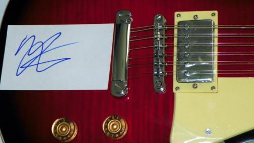 Motley Crue Vince Neil Signed 12 String LP Guitar Uacc Rd AFTAL