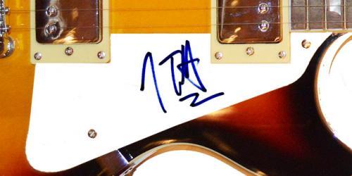 Def Leppard Joe Elliott Autographed Signed LP Guitar Uacc Rd AFTAL