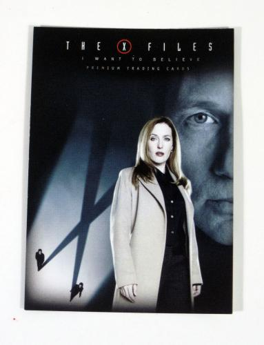 Lot of (50) 2008 Inkworks The X-Files Movie I Want To Believe Promo Card (XF-P)
