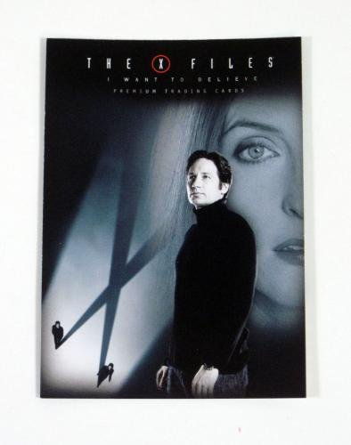 Lot of (50) 2008 Inkworks The X-Files Movie I Want To Believe Promo Card (XF-1)