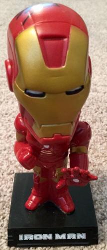 Stan Lee Signed Marvel IRON MAN THE AVENGERS Bobble Head W/ Stan Lee Hologram