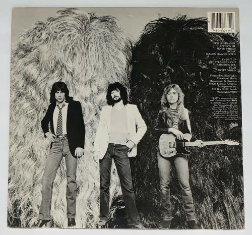 Heart Ann & Nancy Wilson Signed Bebe Le Strange Record Album Jsa Coa K42138
