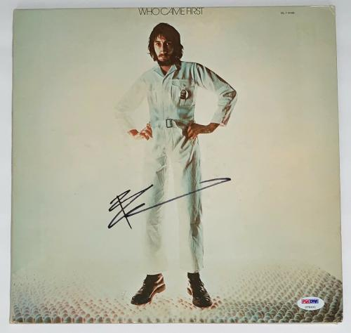 Pete Townshend The Who Signed Who Came First Record Album Psa Coa U78691