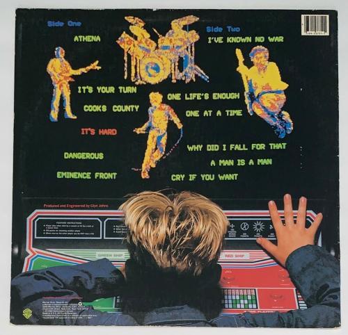Pete Townshend The Who Signed It's Hard Record Album Jsa Coa K42294