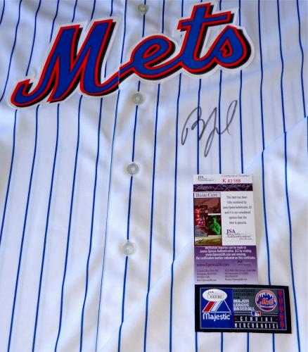 Billy Joel Piano Man Signed New York Mets Home White Jersey Jsa Coa K42188