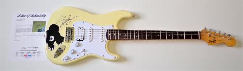 Slash Guns N' Roses / Velvet Revolver Signed Guitar Psa Loa K74531
