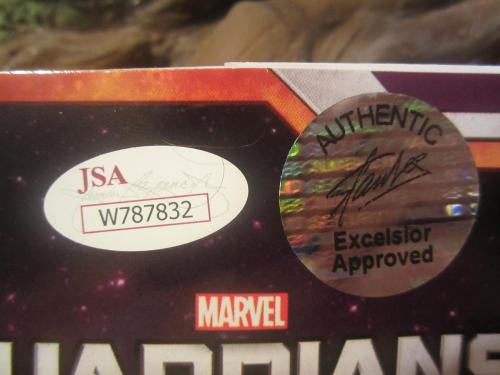 Stan Lee Guardians Of The Galaxy Signed Autographed Groot Latex Mask Rare Jsa