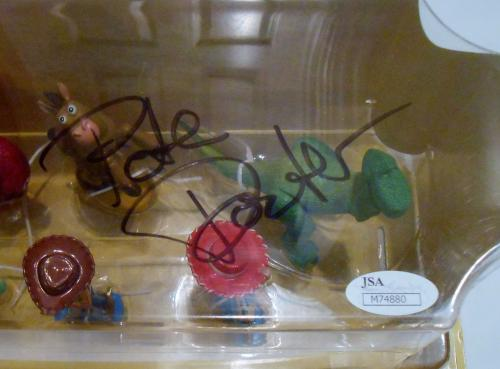 Pete Docter Signed Figurine Playset w/JSA COA Toy Story M74880