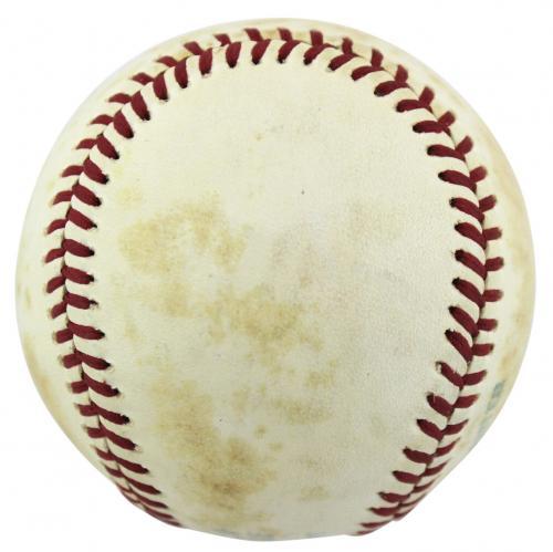 President Richard Nixon Signed OAL MacPhail Baseball JSA #X91589
