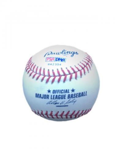 42nd President Bill Clinton Official Major League Baseball Signed Psa/Dna
