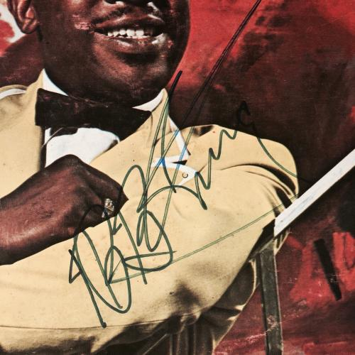 B.B. King Signed Album A Heart Full Of Blues PSA DNA Full Letter COA