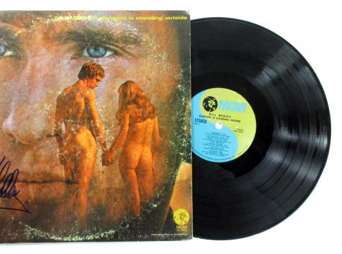 Bill Medley Signed LP Record Album Someone is Standing Outside w/ AUTO