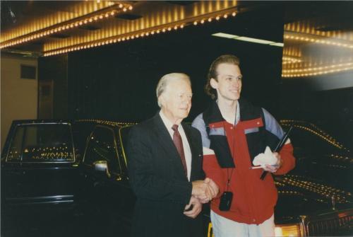 Jimmy Carter & Rosalynn Carter Signed Autographed Photo Jsa Coa Full Jimmy!!!!