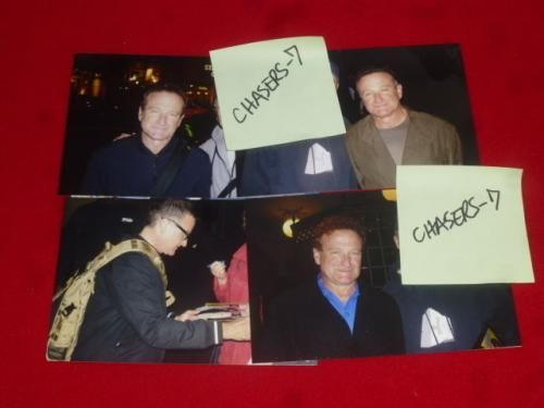 ROBIN WILLIAMS signed PSA/DNA 8x10 photo RIP proof 5