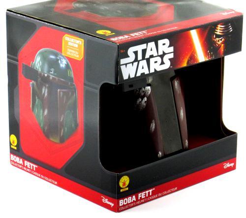 Jeremy Bulloch Signed Star Wars Boba Fett Disney Collector's Edition Mask – In Box