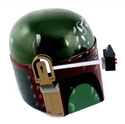 Jeremy Bulloch Signed Star Wars Boba Fett Disney Collector's Edition Mask