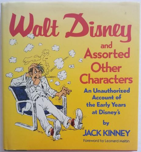 JACK KINNEY Hand Signed Mickey Mouse Jack & the Bean stock Sketch PSA/DNA COA
