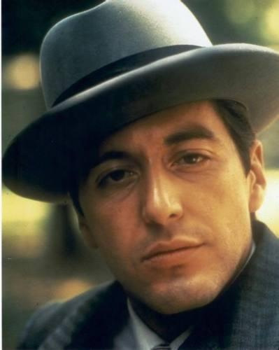 Al Pacino Signed Godfather Gray Fedora Hat PSA/DNA ITP