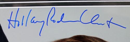 """Hillary """"Rodham"""" Clinton Signed 8x10 Photo Framed PSA/DNA #I72373"""