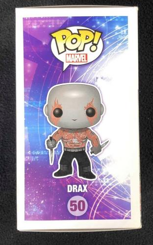 Dave Bautista Signed Guardians Of The Galaxy Drax The Destroyer Funko Pop Figure