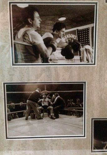 Vintage ROBERT DeNIRO/ JOE PESCI signed Raging Bull framed display-JSA Letter