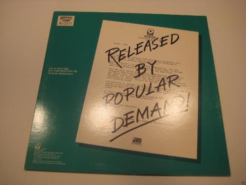 PETE TOWNSHEND Signed DEEP END LIVE! Album w/ PSA COA