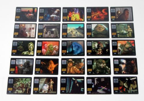 Smiths Star Wars Trilogy Rare Movie Shot Set (50) Nm/Mt