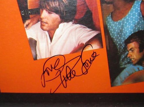 The Beach Boys Signed 'party' Album Cover Brian Wilson & Mike Love Psa/dna Coa