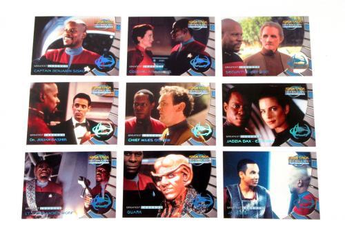 Lot of (5) 1999 Skybox Star Trek Deep Space Nine Memories Future Legends Set (9)