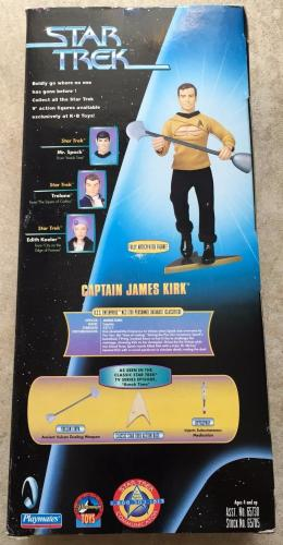 1999 William Shatner Signed Star Trek Captain Kirk Collectors Figure PSA/DNA COA