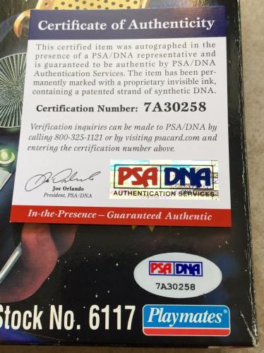 William Shatner Signed Star Trek Playmates Classic Communicator PSA/DNA COA (A)