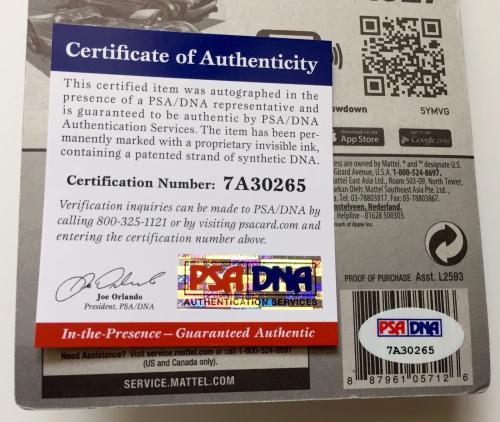 William Shatner Signed Hot Wheels Star Trek USS Enterprise NCC-1701 PSA/DNA COA