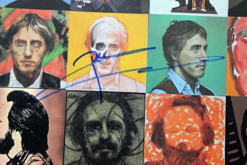 Pete Townshend The Who Signed Face Dances Album Cover PSA/DNA #AB43066