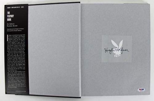 Hugh Hefner Signed 1994 The Playboy 40 Years Book PSA/DNA #AB03311