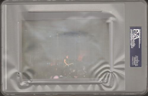 TRENT REZNOR Nine Inch Nails Signed Autographed Concert Ticket PSA/DNA SLABBED