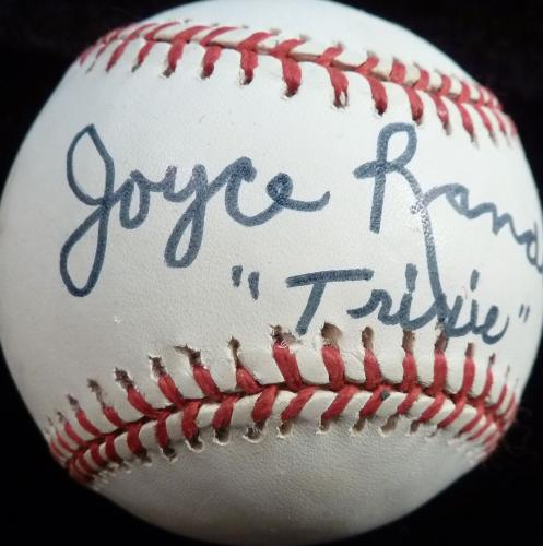 Psa/dna Tv's Honeymooners Joyce Randolph & Art Carney Signed Onl Baseball Z24184