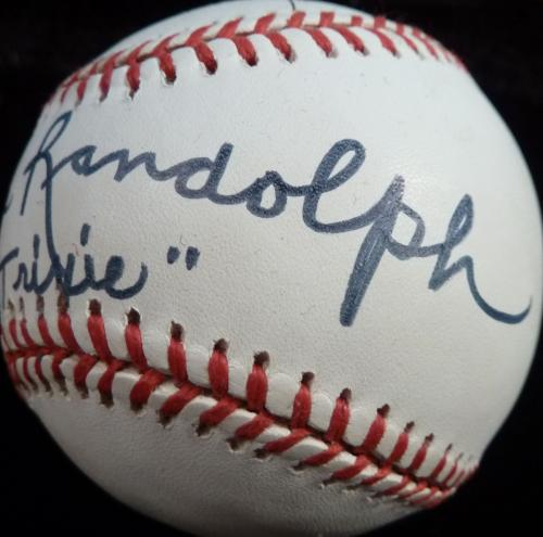 Psa/dna Tv's Honeymooners Joyce Randolph & Art Carney Signed Onl Baseball Z24184