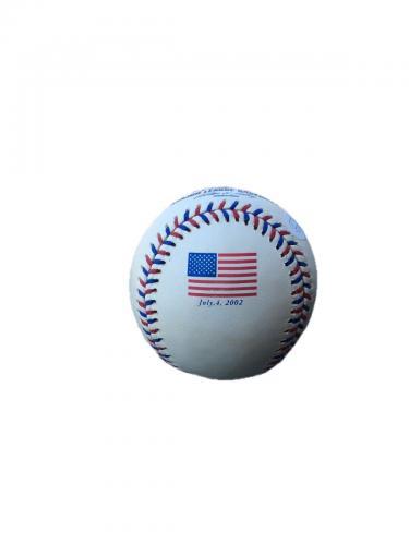 Donald Trump (American Flag) Official Major League Baseball Signed Jsa