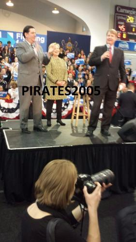 "Bill & Hillary Rodham Clinton  Signed ""hard Choices"" Book 45th President Jsa Loa"