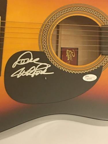 Mike Love Signed Full-size Sunburst Acoustic Guitar The Beach Boys Jsa Coa