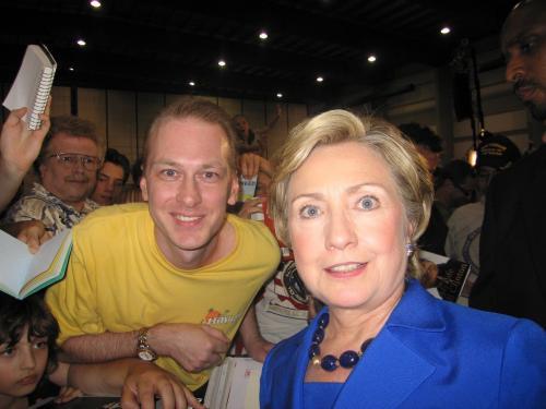 President Bill Clinton & Hillary Clinton Signed White House Engraving Jsa Coa