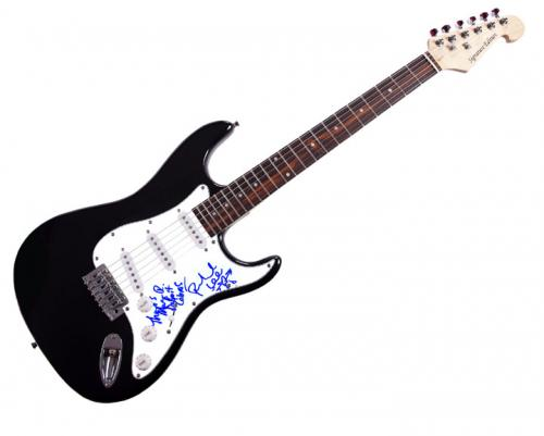 Detroit Cobras Autographed Signed Electric Guitar Uacc Rd Coa AFTAL