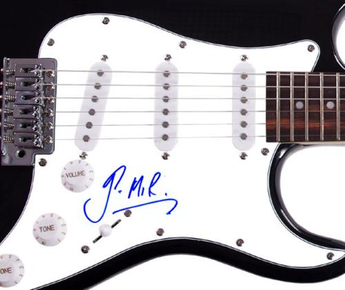 Gavin Rossdale Autographed Signed Electric Guitar Uacc Rd Coa AFTAL