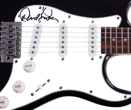 David Frieberg Autographed Signed Guitar UACC RD COA AFTAL